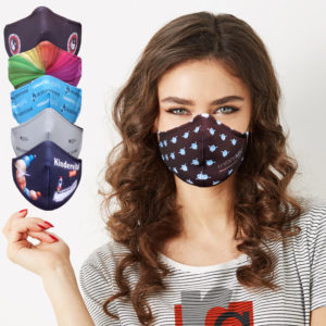 Custom face mask with brand - Publiairbag